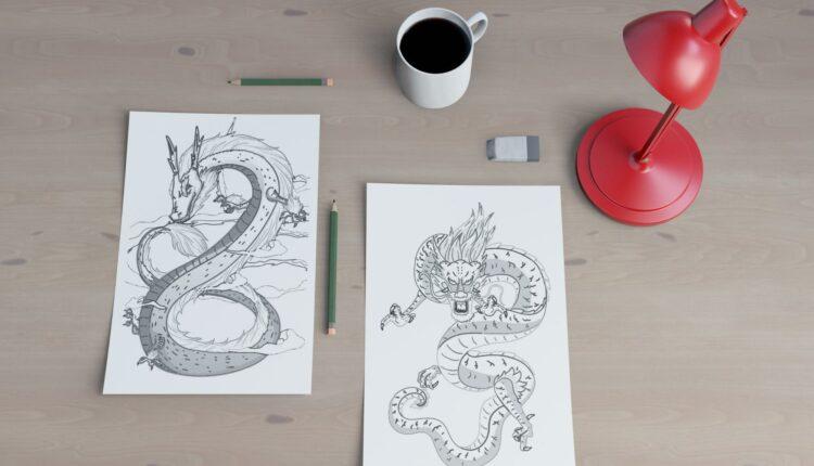 Curso de desenho à lápis