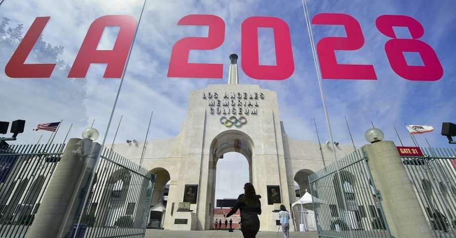 Jogos Olímpicos em Los Angeles no ano de 2028