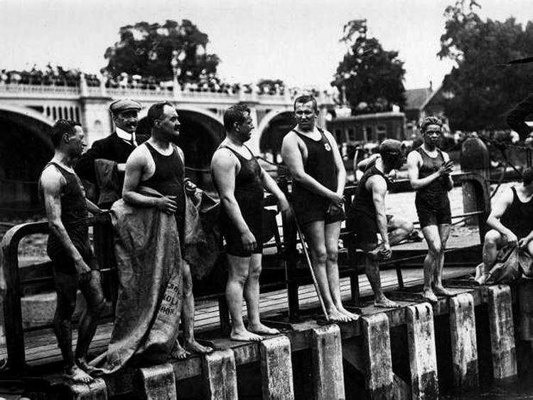Atletas da natação nos Jogos Olímpicos de 1900