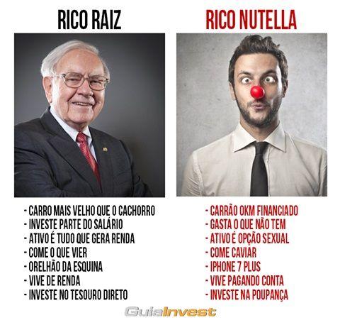 Rico raiz vs rico nutella