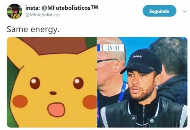Same energy - Meme Neymar